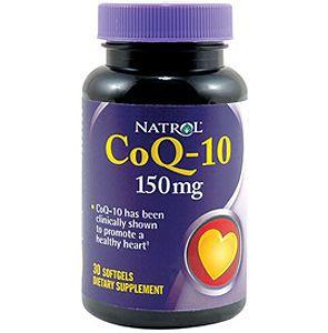 Natrol CoQ-10 150 mg / 30db