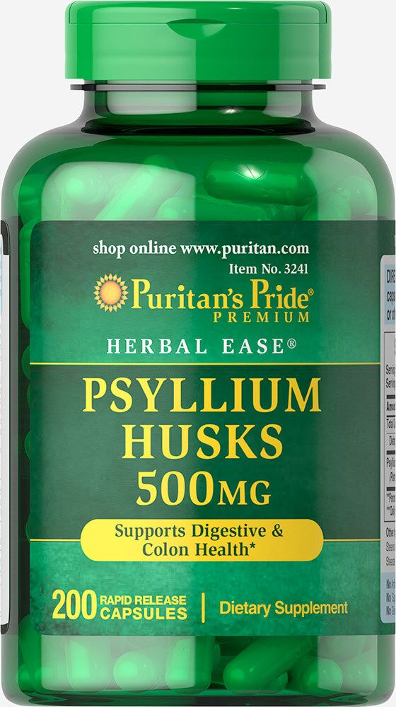 Psyllium Husks 500 mg / 200db