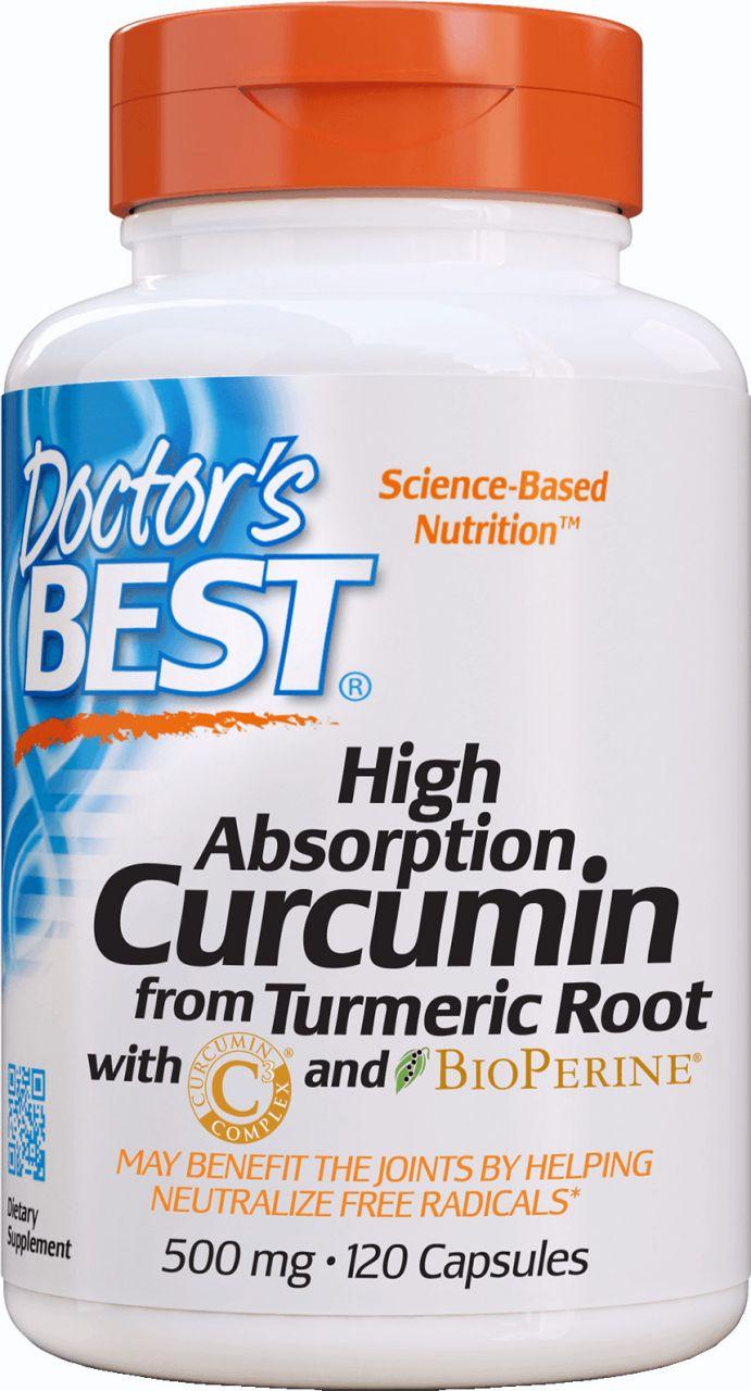 Best kurkumin C3 komplex bioperinnel / 120 db