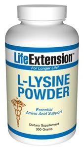 Life Extension L-Lizin por / 300gr