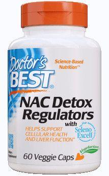 Best NAC Detox Regulators 600mg / 60db