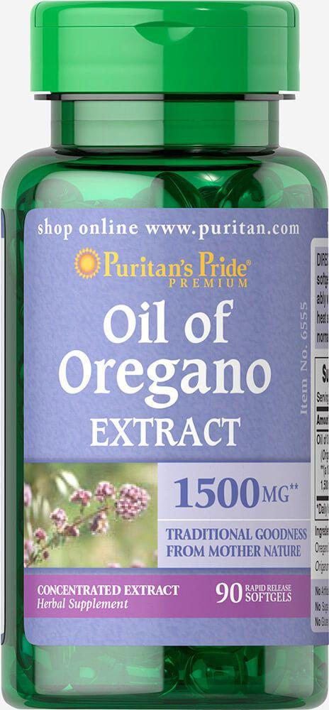 Oregano olaj kivonat 1500 mg / 90db