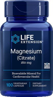 Life Extension Magnézium Citrát / 160mg
