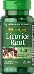 Licorice root 420mg