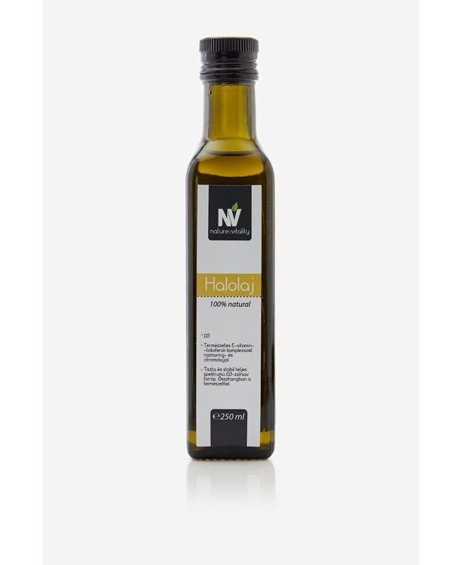 Lazacolaj (halolaj) természetes E-vitamin komplexszel 250ml