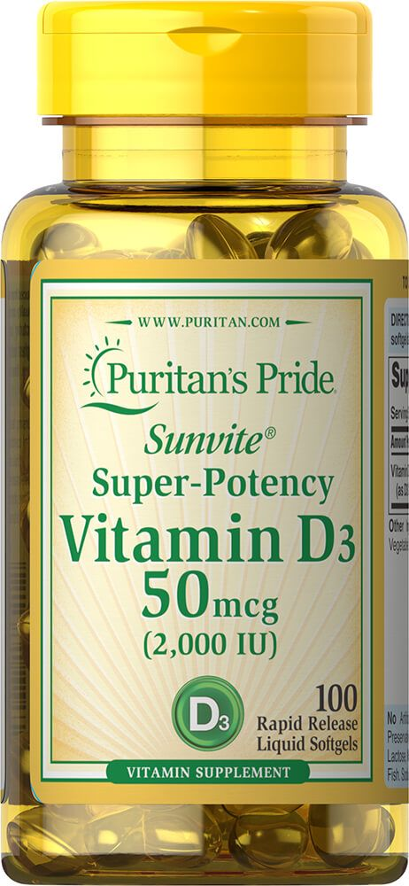 Vitamin D3 2000 IU / 100db