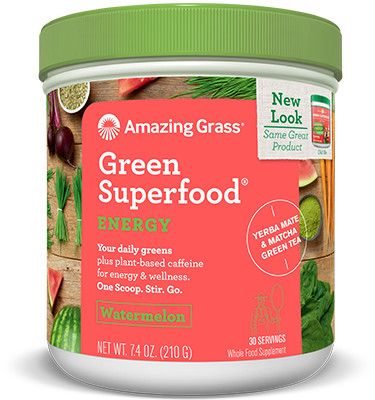 Green Superfood Energy Watermelon / 210gr