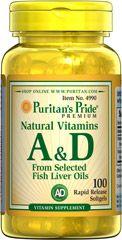 A&D vitamin / 100 db