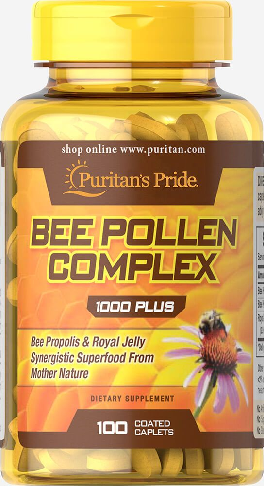 Bee pollen komplex 1000mg / 100db
