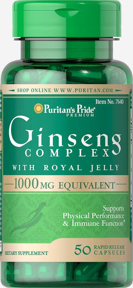 Ginseng komplex 1000mg / 50db