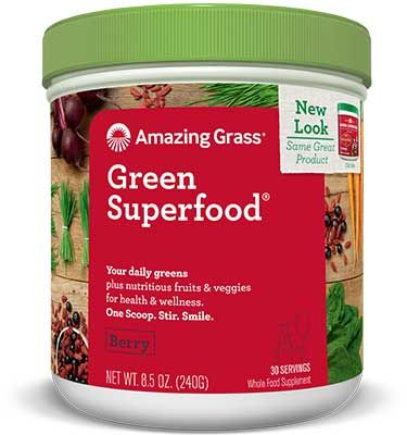 Berry Green Superfood / 240gr