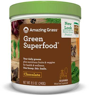 Green Superfood csokis, 240gr