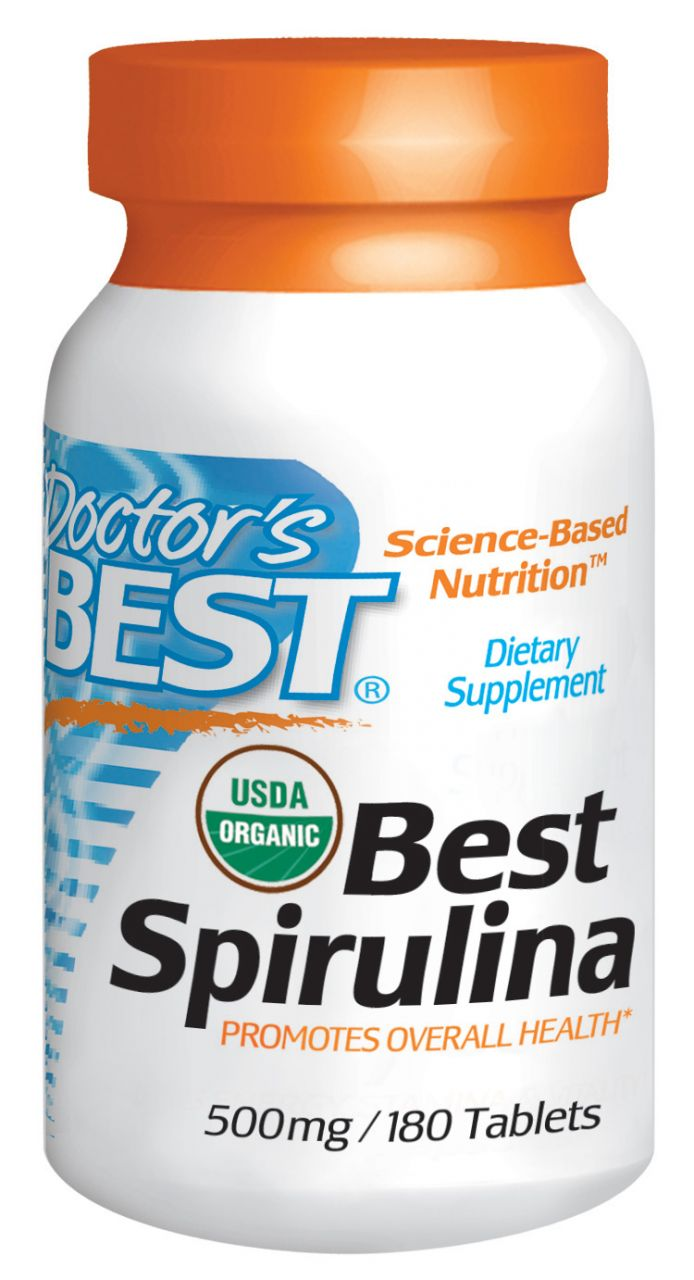 Best Spirulina 500mg / 180db