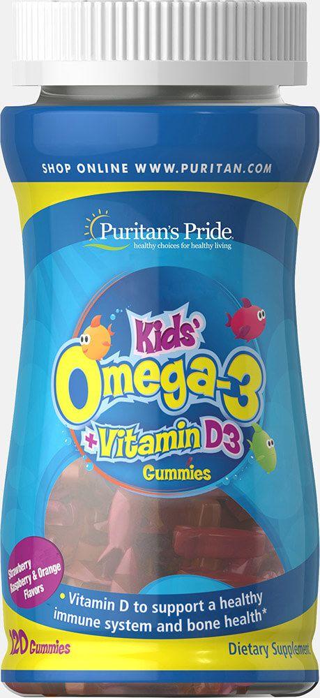 Children's Omega 3, DHA & D3 Gummies