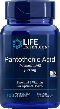 Life Extension B-5 vitamin 500mg / 100db