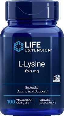 Life Extension L-lizin 620mg / 100db