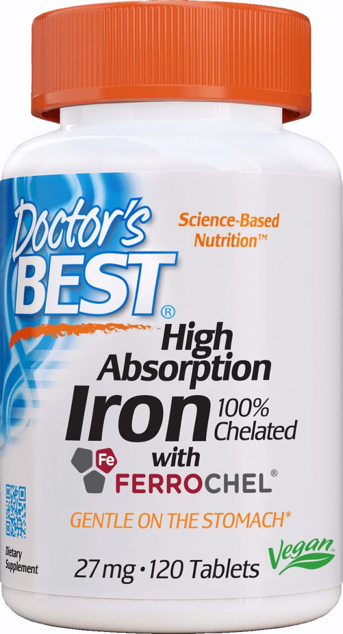 Best Iron 27mg / 120db