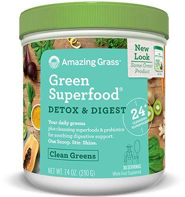 Green SuperFood - Detox & Digest / 210gr