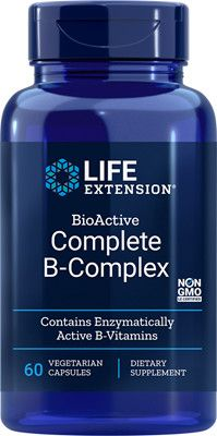 Life Extension BioActive Complete B-Complex / 60VC