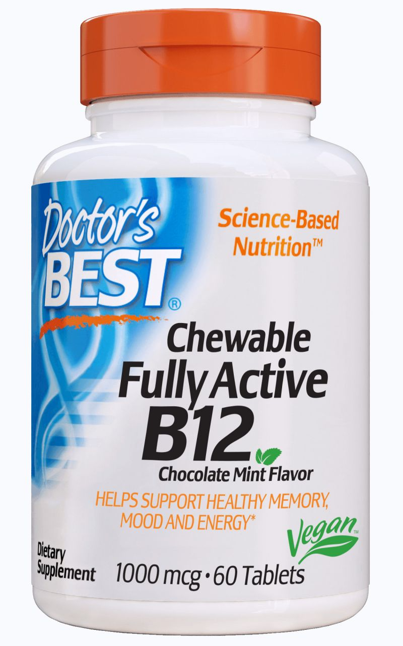 Best Fully Active B12 - Chewable