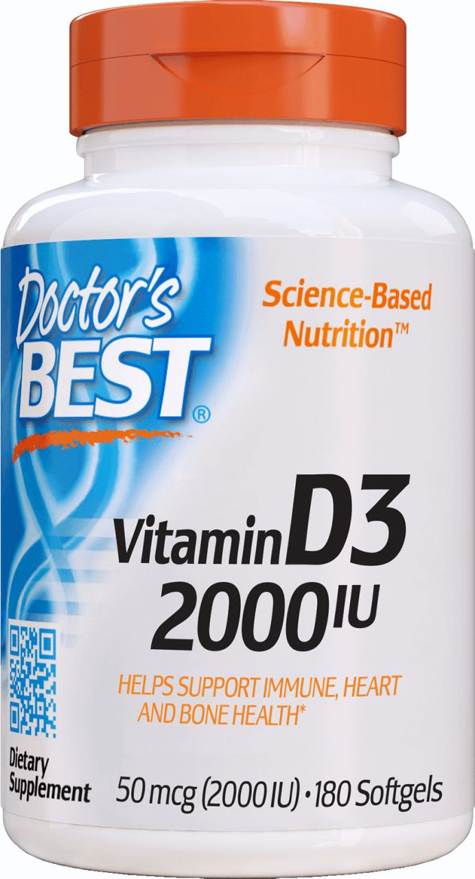 Best Vitamin D3 2000IU / 180db