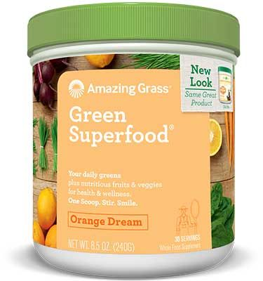 Orange Dreamsicle Green Superfood / 240gr
